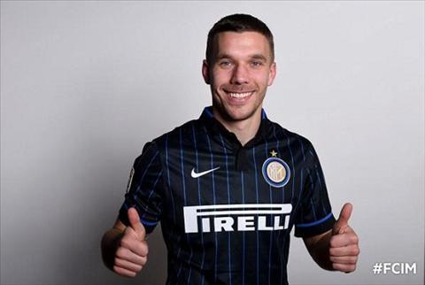 Lukas Podolski Roi Arsenal toi Inter la lua chon sai lam hinh anh