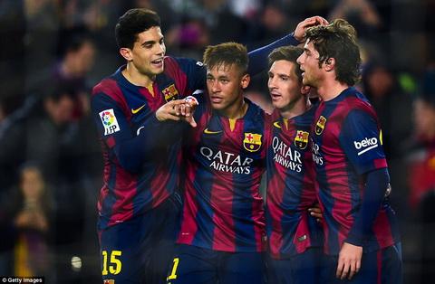 Video ban thang Barcelona 5-0 Elche (Cup Nha vua TBN) hinh anh