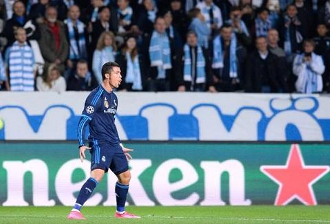 Lap cu dup nhan chim Malmo, Ronaldo bo tui them 2 ky luc khung hinh anh