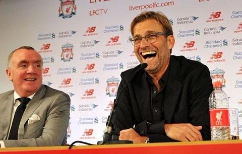 Top nhung cau noi hay nhat cua Jurgen Klopp trong buoi hop bao dau tien tai Liverpool hinh anh