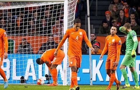 Bi loai tai vong loai Euro 2016, HLV Ha Lan Danny Blind van giu ghe hinh anh