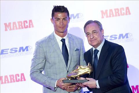 Real khong co y dinh giu Ronaldo o lai Bernebeu hinh anh