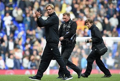 Du am tran Tottenham 0-0 Liverpool Lan gio moi den tu HLV Jurgen Klopp hinh anh