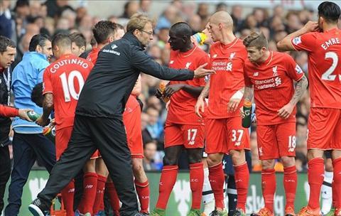 Muon mau cam xuc cua HLV Klopp trong tran ra mat Liverpool hinh anh