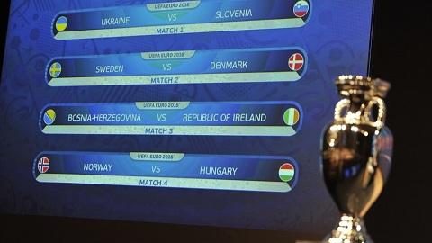 Ket qua boc tham vong play-off EURO 2016 Thuy Dien cham tran Dan Mach hinh anh