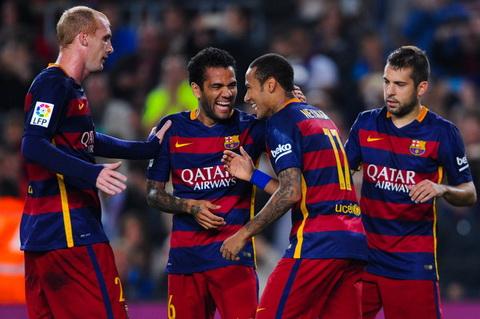 Neymar lam nen lich su, Barca nhe nhang huy diet Vallecano ngay tho va dang yeu hinh anh