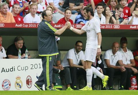Bale chan thuong truoc tran PSG vs Real tai Champions League 20152016 hinh anh
