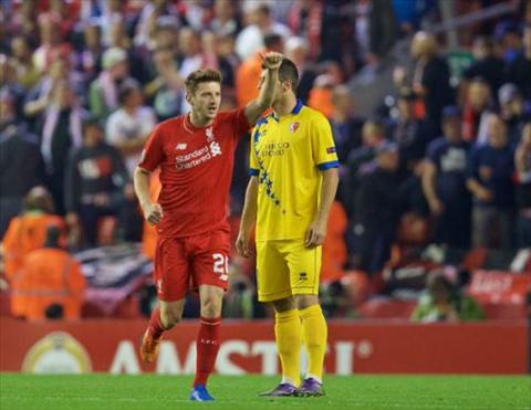 Video clip ban thang Liverpool 1-1 Sion (Vong bang Europa League 20152016) hinh anh