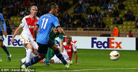 Video clip ban thang Monaco 1-1 Tottenham (Vong bang Europa League 20152016) hinh anh