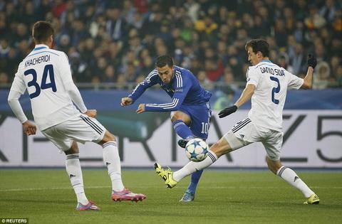 Dynamo Kiev 0-0 Chelsea Tran hoa that vong cua nha vua nuoc Anh hinh anh