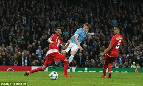 Video clip ban thang Man City 2-1 Sevilla (Bang D Champions League 201516) hinh anh