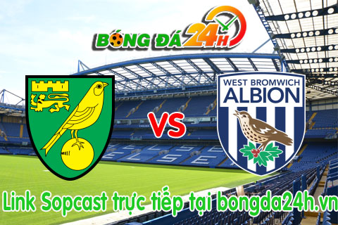 Link sopcast Norwich vs West Bromwich (21h00-2410) hinh anh