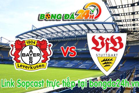 Link sopcast xem truc tiep Bayer Leverkusen vs Stuttgart (20h30-2410) hinh anh