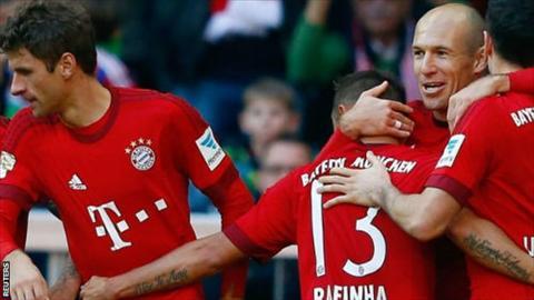 Video clip ban thang Bayern Munich 4-0 FC Koln (Vong 10 Bundesliga 201516) hinh anh