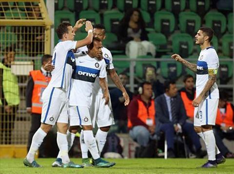 Ivan Perisic mo ty so cho Inter sau tron 1 tieng dong ho thi dau