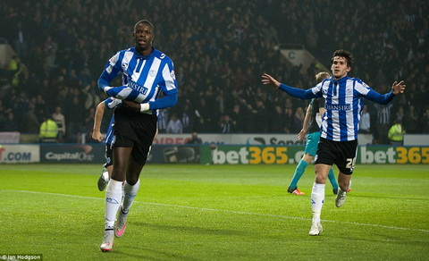 Sheffield Wednesday oai hung tien buoc vao vong tu ket cup Lien doan Anh
