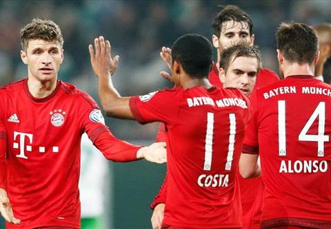 Video clip ban thang Wolfsburg 1-3 Bayern Munich (Cup quoc gia Duc 20152016) hinh anh