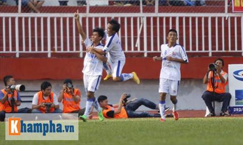 Video clip ban thang U21 An Giang 1-0 U21 Binh Dinh (VCK quoc gia 2015) hinh anh