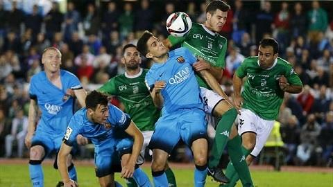 Villanovense 0-0 Barcelona Vang Su-Ne, Blaugrana hoa may truoc doi bong hang lang hinh anh 3