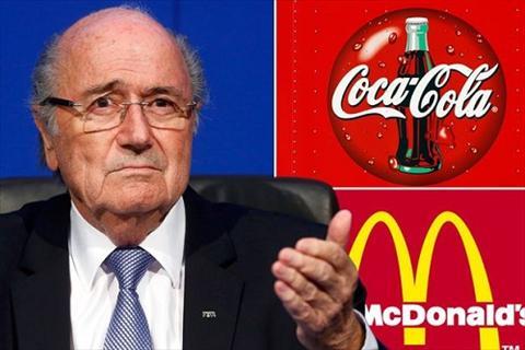 Coca-Cola va McDonald yeu cau Sepp Blatter tu chuc vi so anh huong thuong hieu hinh anh