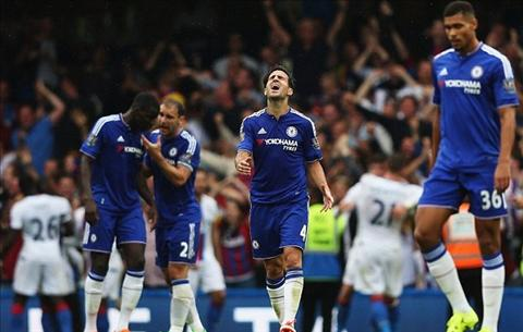Chelsea da danh mat