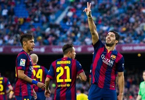 Suarez va Neymar tung toa sang ruc ro trong tran gap Getafe o mua giai truoc