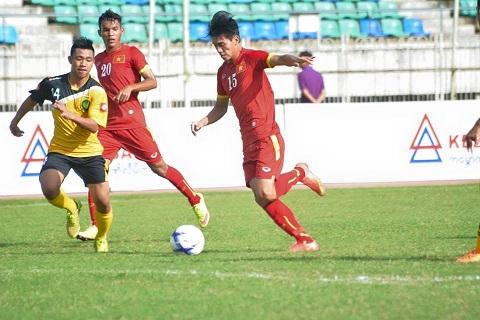 U19 Viet Nam - U19 Dong Timor tai vong loai U19 chau A 2016