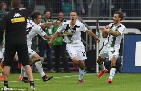 Video clip ban thang Gladbach 2-0 Wolfsburg (Vong 8 Bundesliga) hinh anh