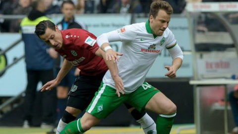 Video clip ban thang Hannover 96 1-0 Werder Bremen (Vong 8 Bundesliga 201516) hinh anh
