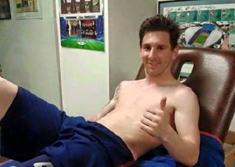 Hoi phuc than ky, Messi tai xuat som hon du kien hinh anh