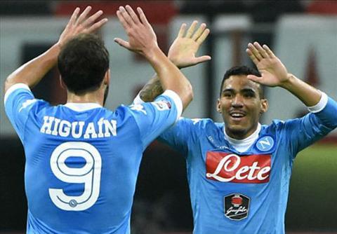 Video clip ban thang AC Milan 0-4 Napoli (Vong 7 Serie A 20152016) hinh anh