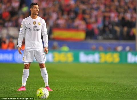 Video clip ban thang Atletico 1-1 Real (Vong 7 La Liga 201516) hinh anh