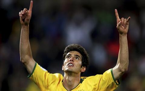 Tuyen Brazil hoi quan Kaka thay cho Coutinho hinh anh