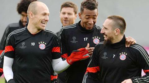 Bayern nhan lien hai tin vui truoc dai chien voi Arsenal