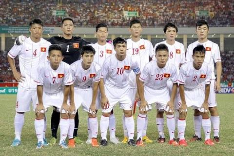 Phan nhom giai U19 chau A nam 2016 U19 Viet Nam co the vao bang de hinh anh
