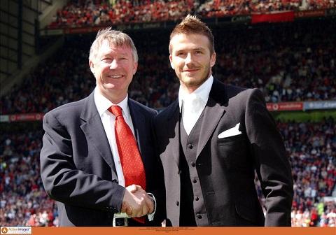 David Beckham Voi toi, Sir Alex nhu nguoi cha thu hai hinh anh