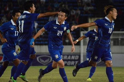 U19 Thai Lan duoc thuong gap doi U19 Viet Nam du chi gianh ve hang B hinh anh