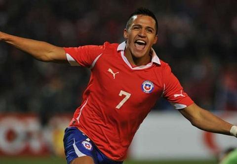 Sanchez toa sang, Chile thay doi lich su truoc Brazil hinh anh