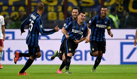 Video clip ban thang Inter Milan 1-0 AS Roma (Vong 11 Serie A 20152016) hinh anh
