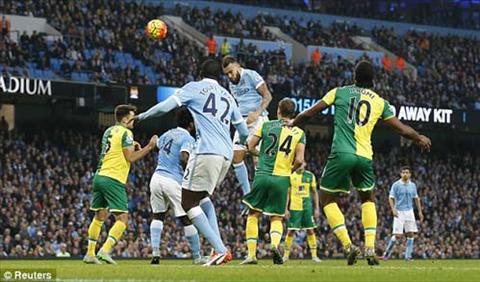 Video clip ban thang ManCity 2-1 Norwich (Vong 11 Premier League 201516) hinh anh