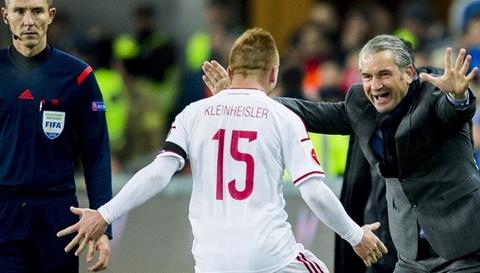 Video clip ban thang: Na Uy 0-1 Hungary (Play-off Euro 2016)