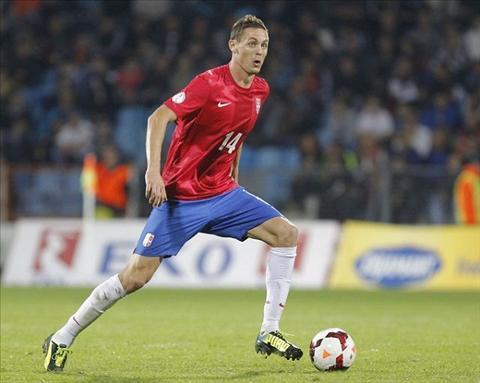 Tien ve Nemanja Matic xuat sac nhat Serbia nam 2015 hinh anh