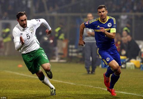 Video clip ban thang Bosnia 1-1 CH Ai Len (Play-off Euro 2016) hinh anh
