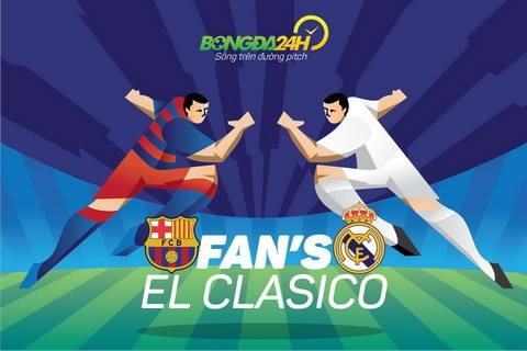Hoi CDV Real va Barca tai Viet Nam ham nong El Clasico bang tran cau ruc lua hinh anh