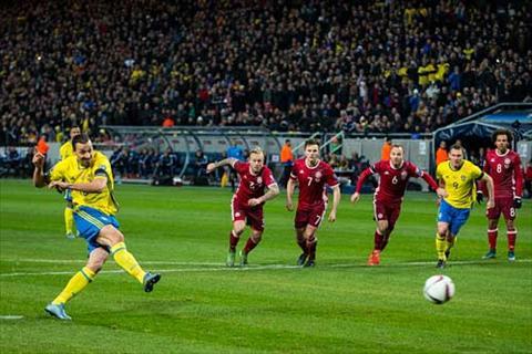 Video clip ban thang Thuy Dien 2-1 Dan Mach (Playoff Euro 2016) hinh anh