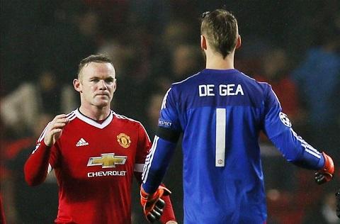 Chu tich La Liga Javier Tebas muon co Wayne Rooney va David de Gea hinh anh