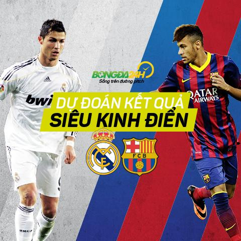 Ket qua chuong trinh du doan ty so Sieu Kinh Dien: Real Madrid – Barcelona (22/11/2015)