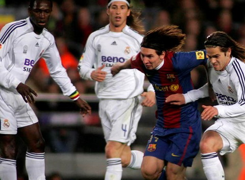 Ky uc El Clasico Barcelona 3-3 Real Madrid (10032007) hinh anh