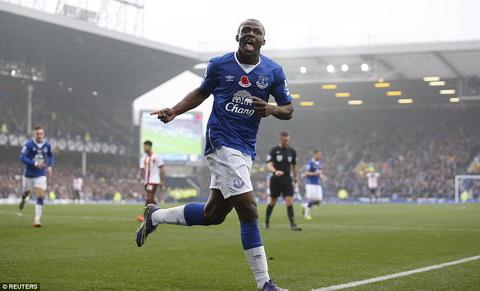 Tuong thuat, tong hop tran dau Everton vs 6-2 Sunderland vong 11 NHA hinh anh