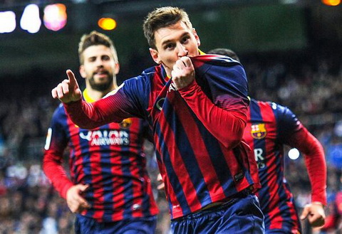 Ky uc El Clasico Real Madrid 3-4 Barcelona (23032014) hinh anh